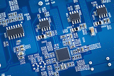 Close up of printed circuit board - DSCF000020