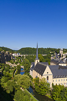 Luxembourg, View of Neumunster Abbey - WDF001405