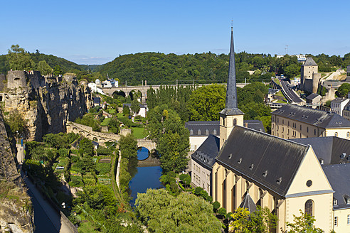Luxembourg, View of Neumunster Abbey - WDF001422