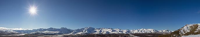 USA, Alaska, View of Alaska Range at Denali National Park - FOF004478