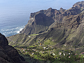 Spain, La Gomera, View of Taguluche near Valle Gran Rey - SIEF003126