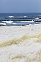 Germany, Mecklenburg Western Pomerania, Waves breaking at Baltic Sea - JTF000274