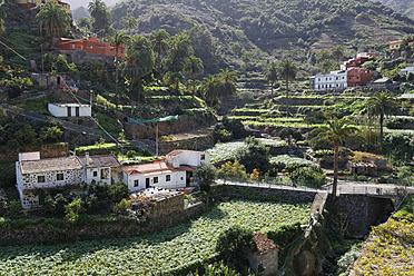 Spain, La Gomera, View of Banda de las Rosas near Vallehermoso - SIE003165