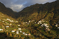 Spain, La Gomera, View of Valle Gran Rey - SIEF003146