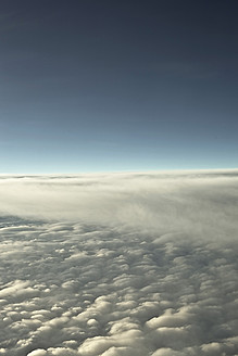 View of clouds out of aeroplane - DBF000230