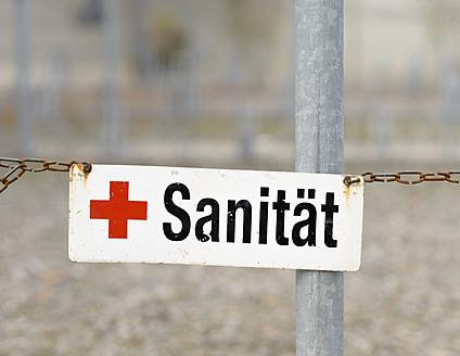 Switzerland, Sign for medical service - HLF000040