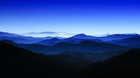 USA, Oregan, View of blue mountains - SMAF000083