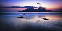 Uk, Scotland, View of Isle of Rum - SMAF000102