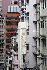 China, Hong Kong, Houses in Chung Wan at Central District - MIZ000178