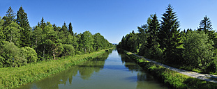 Germany, Isar Loisach Canal near Wolfratshausen - ESF000171