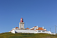 Portugal, View of Cabo da Roca lighthouse at Sintra Cascais Natural Park - FOF004683