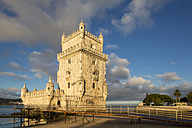Portugal, Lisbon, View of Belem Tower - FOF004724