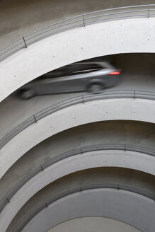 Germany, Baden wuerttemberg, Stuttgart, View of car in car park - WDF001451
