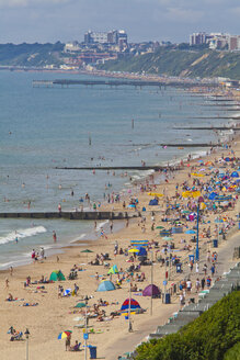 England, People at Bournemouth Beach - WD001566