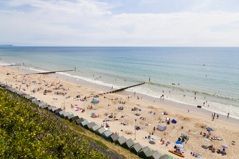 England, People at Bournemouth Beach - WDF001571