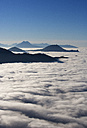 Austria, Salzburg Country, View of Gaisberg mountain covered with fog - WWF002697