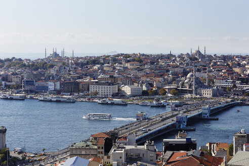 Turkey, Istanbul, View from Galata Tower - SIEF003410