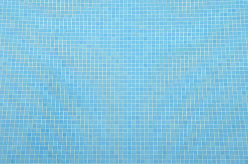 Germany, Reflection of tiles in swimming pool - ASF004863