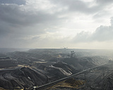 Germany, View of brown charcoal mining at Garzweiler - HL000093