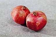 Pomegranates, close up - CSF017812