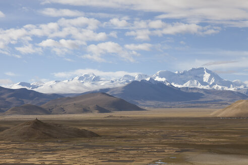 Asia, Tibet, View from Tingri to Cho Oyu - ATA000038