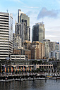 Australia, New South Wales, Sydney, View of Central Business district at darling harbour - MIZ000279