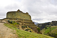 Ecuador, Quito, View of famous Incan archeological site - ONF000110