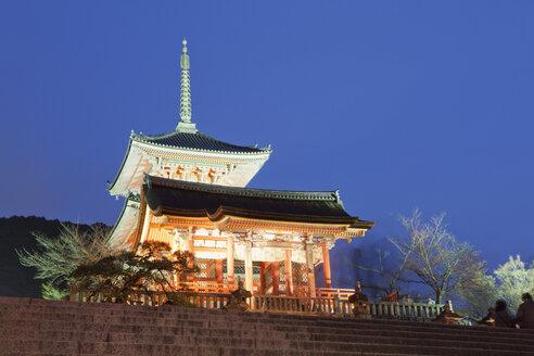 Japan, Kyoto,Pagoda at Kiyomizu dera Temple - FL000314