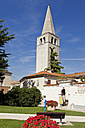 Croatia, Tower of Euphrasian Basilica in Porec - MS002886
