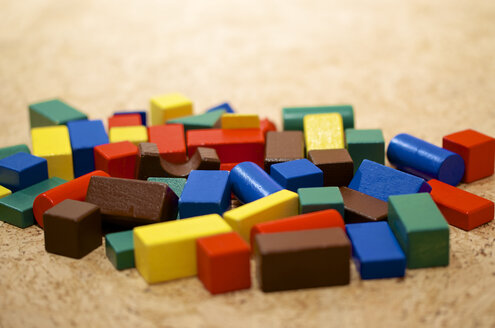 Building blocks, close up - MH000148
