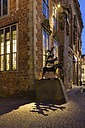 Germany, Bremen, View of  Bremen town musicians - SJ000015