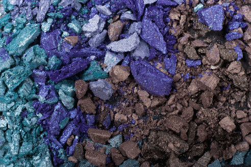 Pieces of eye shadow , close up - TDF000029