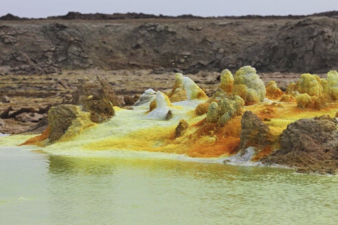 Ethiopia, View of geothermal site Dallol - MR001323