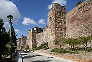 Spain, Malaga, View of Alcazaba castle - WW002841