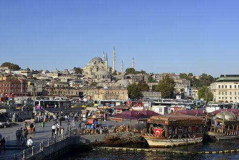 Turkey, Istanbul, View of Suleymaniye Mosque - LH000021