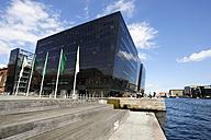 Denmark, Copenhagen, View of Royal Danish Library - LH000004