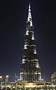 United Arab Emirates, Dubai, View of Burj Khalifa - LH000060