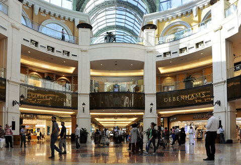 United Arab Emirates, Dubai, Interior of Dubai Mall - LH000052