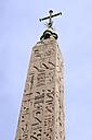 Italy, Rome, Flaminio Obelisk in Piazza del Popolo - MIZ000305