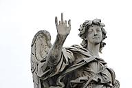 Italy, Rome, Statue of Ponte Sant'Angelo - MIZ000310