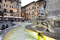 Italy, Rome, View of Fontana del Pantheon - MIZ000320