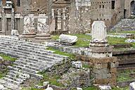 Italy, Rome, Rome Ruins of Forum of Augustus - MIZ000337