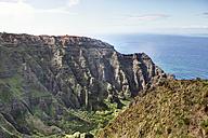 USA, Hawaii, View of canyon at Kauai - SKF001254