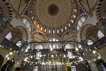 Turkey, Istanbul, Interior of Rustem Pasha Mosque - LH000100