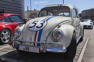 Germany, Bavaria, Volkswagen Beetle Herbie - HA000040