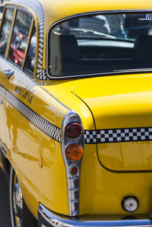 Germany, Bavaria, NYC yellow cab, close up - HA000053