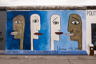 Germany, Berlin, Mural painting on Berlin wall - CB000036