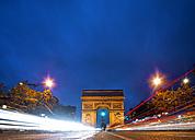Paris, View of Arc de Triomphe and Champs Elysees - ALE000043