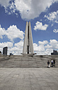 China, Shanghai, View of monument of folk heros at The Bund - KSW001063