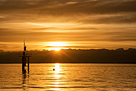 Germany, View of lighthouse at Lake Constance - ELF000013